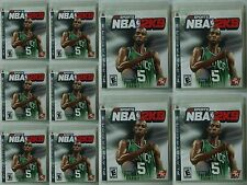 Sony PlayStation3 Video Game Bundle 10PCS for NBA 2K9 ( 2008) complete