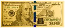 Benjamin Franklin Design $100 1 g Gold Note SKU55260