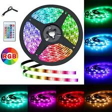 New 2M 5050 RGB TV LED Strip LED Strip Lights With Remote Controller new UK