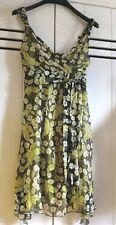 TWIN-SET Simona Barbieri,  silk dress, size It M, B 36  / n3.16