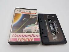 CASSETTE GANIMEDIAN RESCUE COMMODORE 64 C64 128 CBM.COMBINO ENVIO