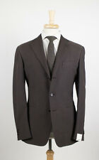 NWT. CARUSO Brown Cotton Sport Coat Blazer 48/38 R  $1425