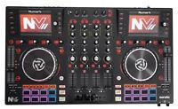 Numark NVII Intelligent Dual-Display Serato DJ Controller 4-Channel, USB