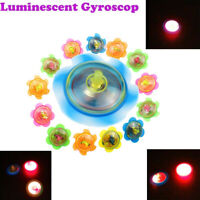 LED Light Up Small Gyroscop Toy Fidget Spinner Stress Relief Kids Play Toy Fun