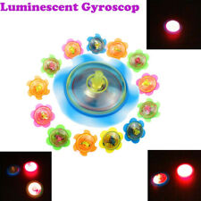 LED Light Up Tiny Gyroscop Toy Fidget Spinner Stress Relief Kids Play Toy Fun