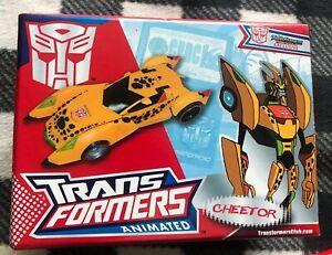 Transformers Botcon Cheetor Mib TFCC US Rare
