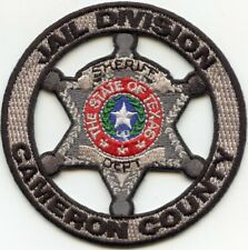 CAMERON COUNTY TEXAS TX JAIL DIVISION DOC CORRECTIONS SHERIFF POLICE PATCH