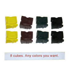 Xerox ColorQube 8570 solid inks (8 cubes). Standard not metered.