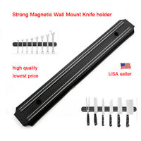Wall mount Magnetic Knife Holder Single Bar Knife Rack Strip Kitchen Tool