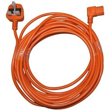 Taski Baby Bora Vento Tennant V5 Hoover Vacuum Cleaner Mains Cable FLEX 10m ORAN