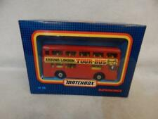 MATCHBOX SUPERKINGS K-15 DAIMLER LONDON TOUR BUS BOXED 1988
