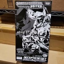 Transformers United Set Generations Deluxe g1 Takara Tomy Decepticon Galvatron