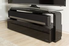Alphason Sonos Playbar TV Stand Cabinet With Built in Mount Bracket in Black