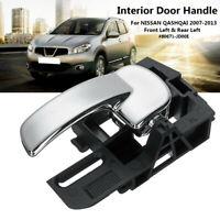 For NISSAN QASHQAI 07-13 Interior Car Door Handle Front / Rear Left