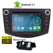 "7"" Android 7.1 Digital DVD Player GPS Radio BT RDS 4G For Toyota Rav4 2006-2011"
