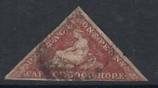 CAPE OF GOOD HOPE : 1864 deep carmine-red   SG 18 used