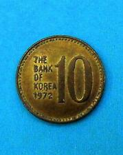 Corea del sur 10 won 1972 ☆ corea-South 10 won 1972