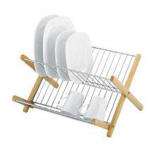Avanti Monterey Chromed Steel & Timber Dish Rack