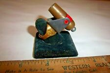 Vintage 1951 Gabby Hayes Quaker Cereal Premium Cannon Ring -Silver Version