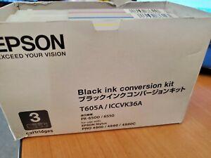 Epson Black Ink Conversion Kit T605A for Stylus Pro 4800 4880 4880C