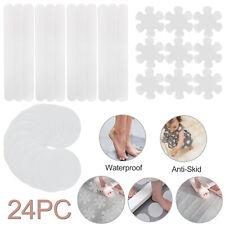 24Pack Non-Slip Floor Safety Treads Applique Stickers Mat Bath Strips Tub Shower