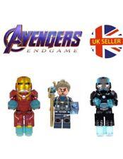 Avengers Figure Iron Man Tony Stark Infinity Stone Set Lego End Game UK Seller