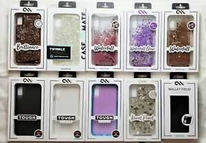 Case-Mate Clear - Pearl -Twinkle - Waterfall - Wallet Case for iPhone XS MAX