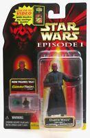 "Star Wars Episode 1 Darth Maul Tatooine Rare VHS Sticker Variant 3.75"" Figure"