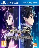 Accel World vs Sword Art Online PS4 * NEW SEALED PAL *