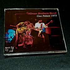Allman Brothers 4 Cd Cow Palace Nye 1973 w Jerry Garcia Grateful Dead Boz Scaggs