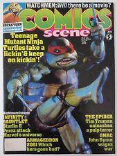 Comics Scene #19 1991 Teenage Mutant Ninja Turtles II, Infinity Gauntlet, (M115)