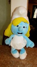 """The Smurfs Official Movie Stuffed Toy 15"""" Plush Doll Girl Smurfette by Kellytoy"""