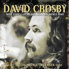 DAVID CROSBY WITH JERRY GARCIA – LIVE AT THE MATRIX, SAN FRAN DEC 1970 (NEW) CD