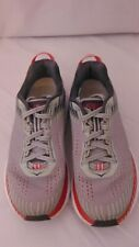 Hoka One Clifton 5 Gray Pink Black Running Style Shoes Size 7 Lace Up