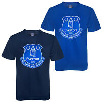 Everton FC Official Football Gift Mens Crest T-Shirt