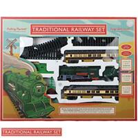 Traditional Railway Set With Lights & Sound Hobby Collectors Set