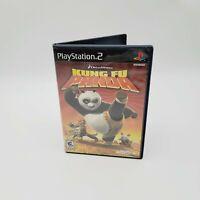 Kung Fu Panda (Sony PlayStation 2, 2008) with manual