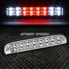 [2-ROW LED]FOR 99-16 SUPER DUTY RANGER THIRD 3RD TAIL BRAKE LIGHT LAMP CHROME