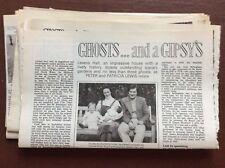 F1d Ephemera 1970s article levens hall hal susan bagot