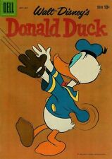 DONALD DUCK #67 G, Water damage, Stains on F/C, Dust shadow, Dell Comics 1959