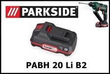 2Ah Bateria taladro percutor Parkside 20v Battery Drill PAP Hammer PABH 20 Li B2