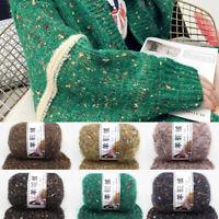 50g Colorful Alpaca Wool Yarn DIY Hand Knitting Scarf Sweater Crochet Yarn 4 Ply