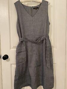 NEXT TAILORING GREY TUNIC DRESS - Size 18