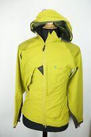 Klattermusen Frode Hooded Green Mens Soft Shell Jacket Sz S