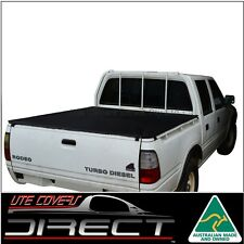 Suits Holden Rodeo TF (1997 to 2002) Dual Cab Ute ClipOn Tonneau Cover