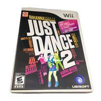 Just Dance 2 (Nintendo Wii, 2010) Complete