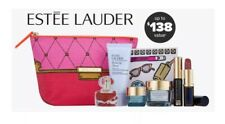ESTEE LAUDER 8pc 24hr Hydration Gift Bag Makeup Skincare $138 GWP