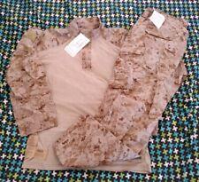 USMC Desert Frog Shirt & Trousers, AUTHENTIC, LARGE - REGULAR (L-R) NWT