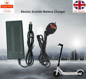 Electric Scooter Battery Charger For Xiaomi M365 Pro 2 M187 UK Adapter Es1 2 3 4