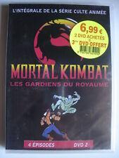 DVD MORTAL KOMBAT Les Gardiens du Royaume n°2 Dessins Animés neuf